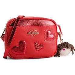 Torebka LOVE MOSCHINO - JC4060PP17LF0500 Rosso. Czerwone listonoszki damskie Love Moschino, ze skóry ekologicznej. Za 719.00 zł.