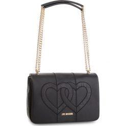 Torebka LOVE MOSCHINO - JC4084PP16LM0000 Nero. Czarne torebki do ręki damskie Love Moschino, ze skóry ekologicznej. W wyprzedaży za 669.00 zł.
