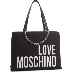Torebka LOVE MOSCHINO - JC4112PP17LO0000  Nero. Czarne torebki do ręki damskie Love Moschino, z materiału. Za 839.00 zł.