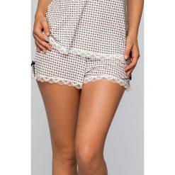 Dorina - Szorty piżamowe. Szare piżamy damskie Dorina, z dzianiny. W wyprzedaży za 39.90 zł.
