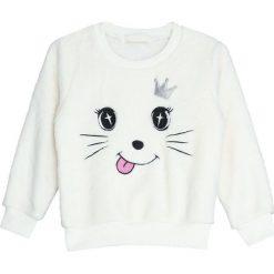 Biała Bluza Print. Białe bluzy dla dziewczynek Born2be. Za 34.99 zł.