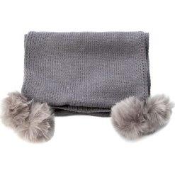 Szal TWINSET - Sciarpa AA7P3C Grigio Mel. Chiaro 0082C. Szare szaliki i chusty damskie Twinset, z bawełny. W wyprzedaży za 259.00 zł.