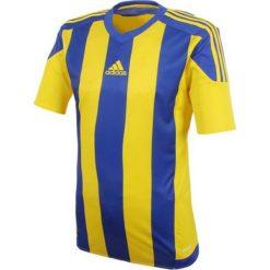 Adidas Koszulka piłkarska męska Striped 15 granatowo-żółta r. XXL (S16142). T-shirty i topy dla dziewczynek Adidas. Za 96.05 zł.