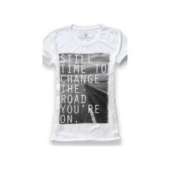 Koszulka UNDERWORLD Ring spun cotton Road. Białe t-shirty damskie Underworld, z nadrukiem, z bawełny. Za 59.99 zł.