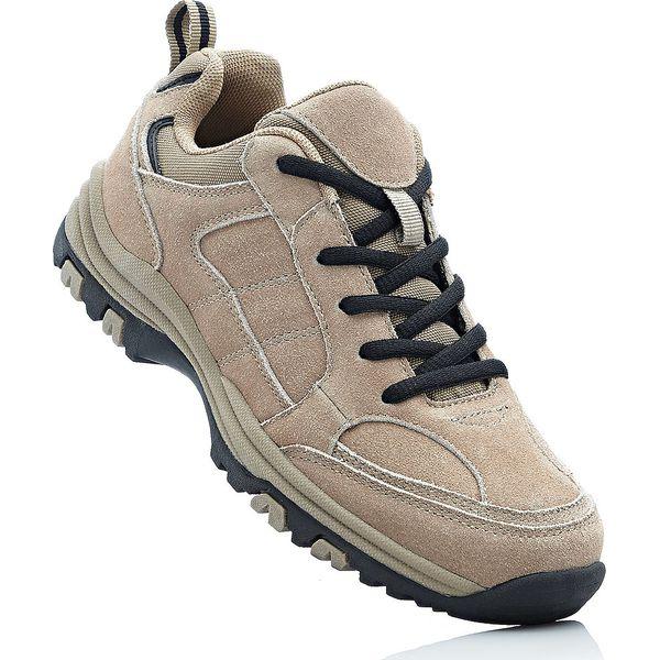 339518d8 Skórzane buty trekkingowe bonprix brunatny - Obuwie sportowe damskie ...