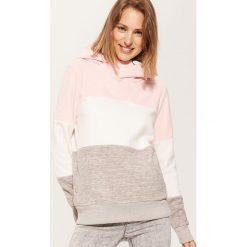 Polarowa bluza z kapturem - Wielobarwn. Bluzy damskie marki KALENJI. W wyprzedaży za 39.99 zł.