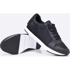 Calvin Klein Jeans - Buty. Czarne buty sportowe męskie Calvin Klein Jeans, z jeansu. Za 449.90 zł.