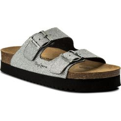 Klapki PEPE JEANS - Oban Blim PLS90327 Silver 934. Szare klapki damskie Pepe Jeans, z jeansu. W wyprzedaży za 179.00 zł.