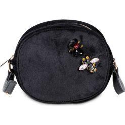 """Torebka na ramię """"Pszczoła"""" z kolekcji Maite Kelly bonprix czarny. Czarne torby na ramię damskie bonprix. Za 79.99 zł."""