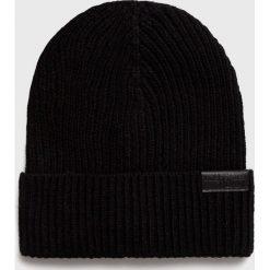 Trussardi Jeans - Czapka 57Z00057.9Y099999. Czarne czapki i kapelusze męskie TRUSSARDI JEANS. Za 169.90 zł.