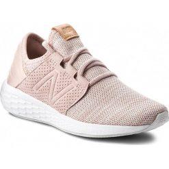 Buty NEW BALANCE - WCRUZKC2 Różowy. Czerwone obuwie sportowe damskie New Balance, z materiału. W wyprzedaży za 269.00 zł.
