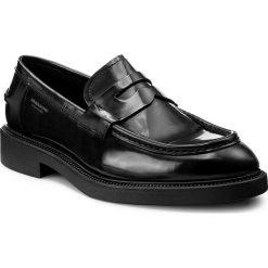 Mokasyny VAGABOND - Alex M 4466-204-20 Black. Czarne mokasyny męskie Vagabond, z materiału. W wyprzedaży za 419.00 zł.