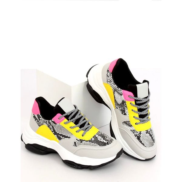 Buty sportowe szare BL170P Yellow