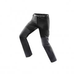 Spodnie trekkingowe Trek 900 Wind damskie. Czarne spodnie materiałowe damskie FORCLAZ, z elastanu. Za 249.99 zł.