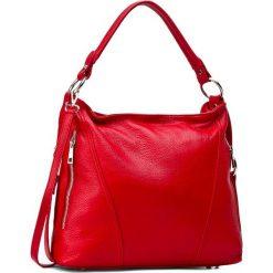 Torebka CREOLE - RBI1179 Czerwony. Czerwone torebki do ręki damskie Creole, ze skóry. W wyprzedaży za 209.00 zł.