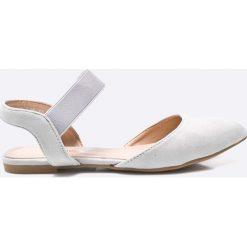 Answear - Baleriny Chc-Shoes. Szare baleriny damskie ANSWEAR, z gumy. W wyprzedaży za 59.90 zł.