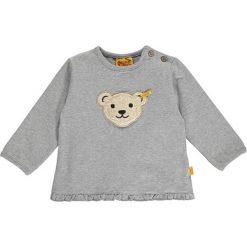Bluza w kolorze szarym. Bluzy dla niemowląt Steiff, z aplikacjami. W wyprzedaży za 47.95 zł.
