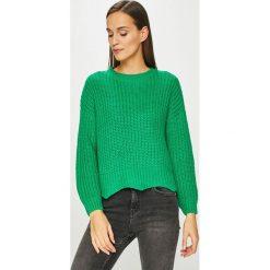 Tally Weijl - Sweter. Zielone swetry damskie TALLY WEIJL, z dzianiny, z okrągłym kołnierzem. Za 119.90 zł.