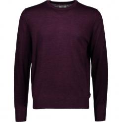 Sweter w kolorze fioletowym. Fioletowe swetry przez głowę męskie Ben Sherman, z wełny, z okrągłym kołnierzem. W wyprzedaży za 195.95 zł.