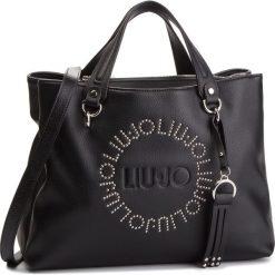 Torebka LIU JO - M Satchel Colorado N68205 E0037 Nero 22222. Czarne torby na ramię damskie Liu Jo. Za 689.00 zł.