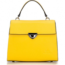 Torebka damska 87-4-571-Y. Czarne torebki do ręki damskie Wittchen, w paski, z tworzywa sztucznego. Za 299.00 zł.