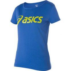 Asics Koszulka damska Logo Tee niebieska r. S (122863-8091). T-shirty damskie Asics. Za 69.98 zł.