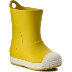 Kalosze CROCS - Bump It Boot 203515 Yellow/Oyster. Kalosze chłopięce Crocs. W wyprzedaży za 139.00 zł.