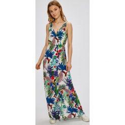 Desigual - Sukienka Jasmine. Szare sukienki damskie Desigual, z tkaniny, casualowe, na ramiączkach. Za 299.90 zł.