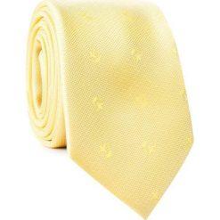 KRAWAT KWYR001769. Żółte krawaty i muchy Giacomo Conti, z mikrofibry. Za 69.00 zł.