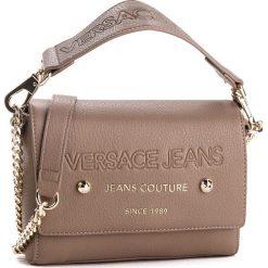 Torebka VERSACE JEANS - E1VSBBSA 70789 723. Brązowe torebki do ręki damskie Versace Jeans, z jeansu. Za 609.00 zł.