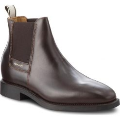 Sztyblety GANT - James 17651960 Dark Brown G46. Botki męskie marki Giacomo Conti. W wyprzedaży za 419.00 zł.