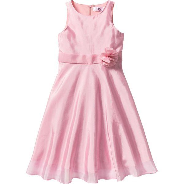 59129a14f8 Sukienka na uroczyste okazje bonprix jasnoróżowy pudrowy - Sukienki ...