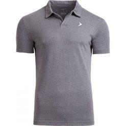 Koszulka polo męska TSM610A - średni szary melanż - Outhorn. Szare koszulki polo męskie Outhorn, na lato, melanż, z bawełny. W wyprzedaży za 39.99 zł.