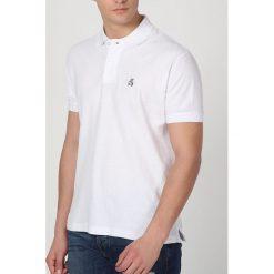 Koszulka polo w kolorze białym. T-shirty dla chłopców The Time of Bocha, z krótkim rękawem. W wyprzedaży za 99.95 zł.