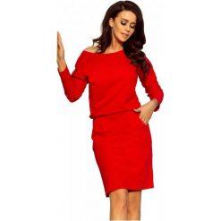 Numoco Sukienka Damska, M, Czerwona. Czerwone sukienki damskie NUMOCO. W wyprzedaży za 189.00 zł.