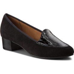 Półbuty CAPRICE - 9-24302-21 Black Comb 019. Czarne półbuty damskie Caprice, z materiału, eleganckie. W wyprzedaży za 219.00 zł.