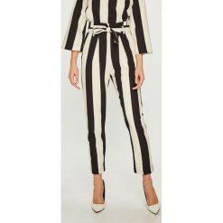 Answear - Spodnie. Szare spodnie materiałowe damskie ANSWEAR, z elastanu. Za 169.90 zł.