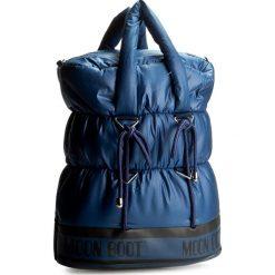 Torebka MOON BOOT - MB Apollo Shopping Bag 44000100002  Blu. Niebieskie torebki do ręki damskie Moon Boot, z materiału. W wyprzedaży za 399.00 zł.