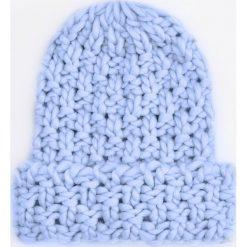 Czapka - Niebieski. Niebieskie czapki i kapelusze damskie Reserved. Za 49.99 zł.