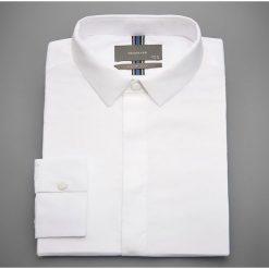 Koszula slim fit - Biały. Białe koszule męskie Reserved. Za 99.99 zł.