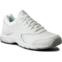 Buty Reebok - Work N Cushion 3.0 BS9523  White/Steel. Białe buty sportowe męskie Reebok, z materiału. W wyprzedaży za 169.00 zł.