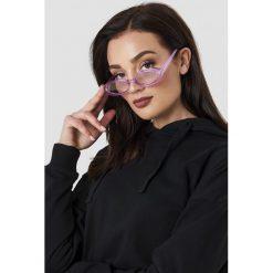 Le Specs Okulary przeciwsłoneczne Outta Love - Purple. Fioletowe okulary przeciwsłoneczne damskie Le Specs. Za 222.95 zł.
