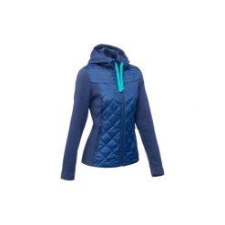 Sweter NH500 Hybrid damski. Niebieskie swetry damskie QUECHUA. Za 99.99 zł.