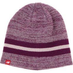 Zestaw Czapka i Rękawiczki NEW BALANCE - 500342 532. Fioletowe czapki i kapelusze damskie New Balance, z materiału. W wyprzedaży za 119.00 zł.