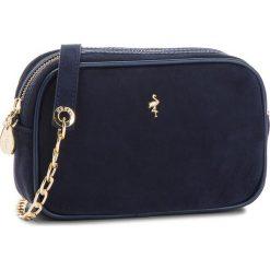 Torebka MENBUR - 76346 Navy 0005. Niebieskie torebki do ręki damskie Menbur, ze skóry. W wyprzedaży za 199.00 zł.