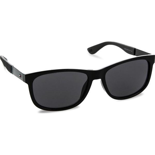 2809a57c3cb9 Okulary przeciwsłoneczne TOMMY HILFIGER - 1520 S Black 807 - Okulary ...