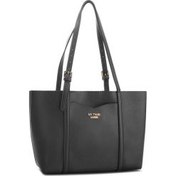 Torebka MY TWIN - Shopping VA8PGN  Bic.Nero/Zebr 02854. Czarne torebki do ręki damskie My Twin, z motywem zwierzęcym, ze skóry ekologicznej. W wyprzedaży za 419.00 zł.