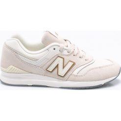 New Balance - Buty WL697CD. Szare obuwie sportowe damskie New Balance, z gumy. W wyprzedaży za 299.90 zł.