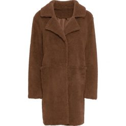 """Płaszcz """"baranek"""" bonprix wielbłądzia wełna. Płaszcze damskie marki FOUGANZA. Za 239.99 zł."""