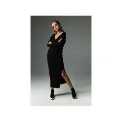 Sukienka the Ruler - czarna. Czarne sukienki damskie Madnezz, z aplikacjami, z bawełny. Za 279.00 zł.